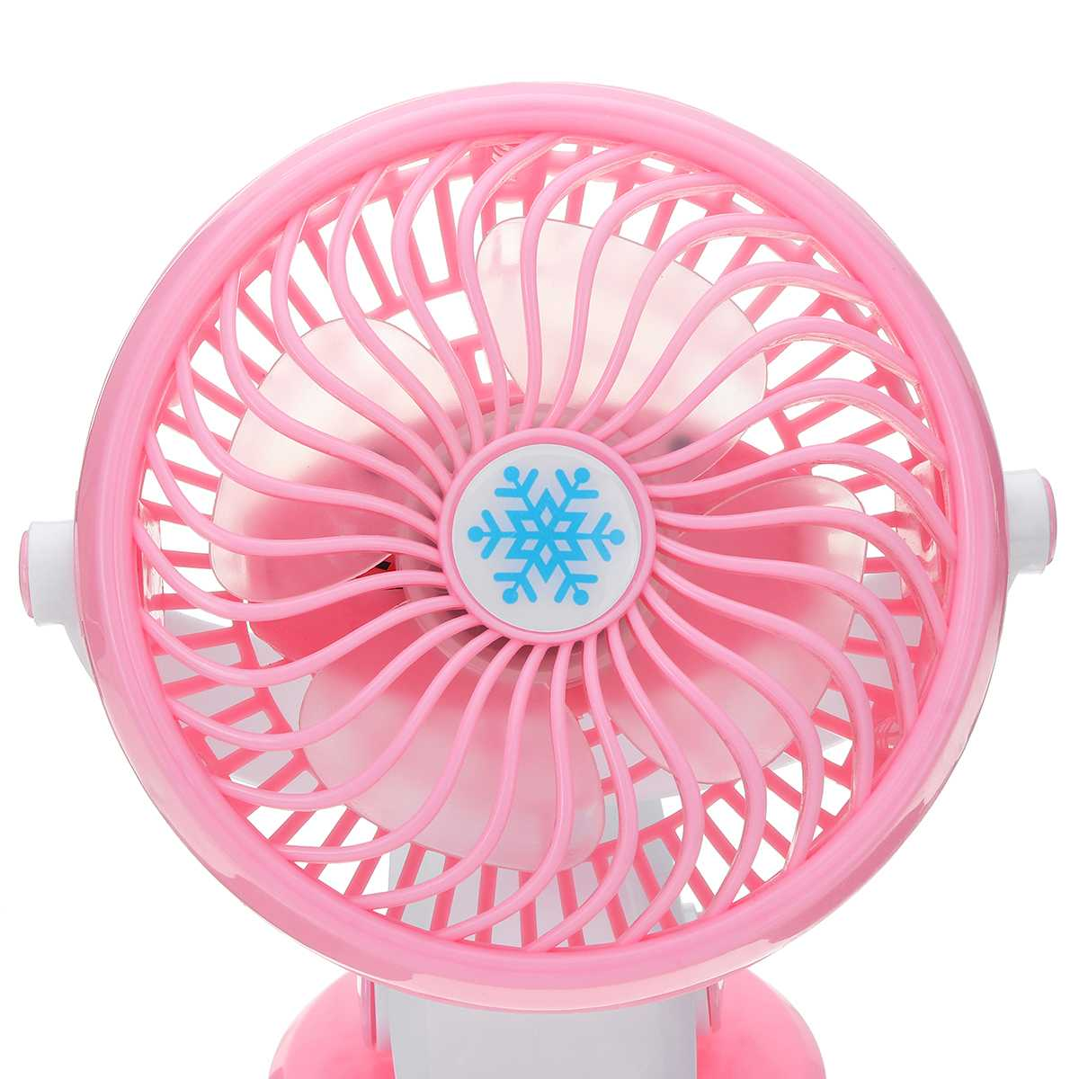 DC 5V-9V Mini Mute Clip Fan Rechargeable for Baby Stroller Fans Portable  Air Cooling Desk Table USB Fan for Home Car Office