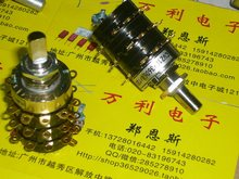 [BELLA]New imported gold-plated rotary band switch contact point two five-speed three- 5PX5PX5P knife gilded feet