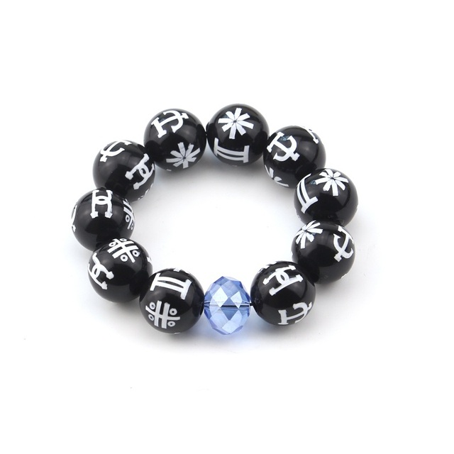 Black Panther KIMOYO Bracelet Beads Wakanda King T Challa Cosplay Jewelry  Prop af2f46890815
