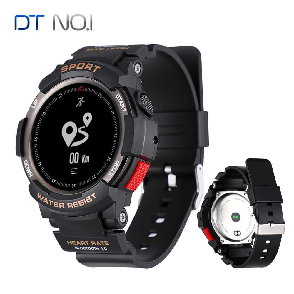 resistente IP68 NRF51822 reloj al agua N° 1 F6 inteligente PkwnO0