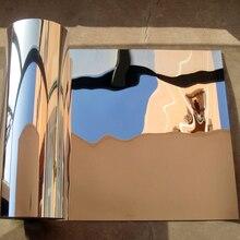 50 см* 1 м высокий светильник светоотражающая пленка наклейки зеркало Водонепроницаемый самоклеющаяся УФ-отражающая пленка/светильник непрозрачная пленка