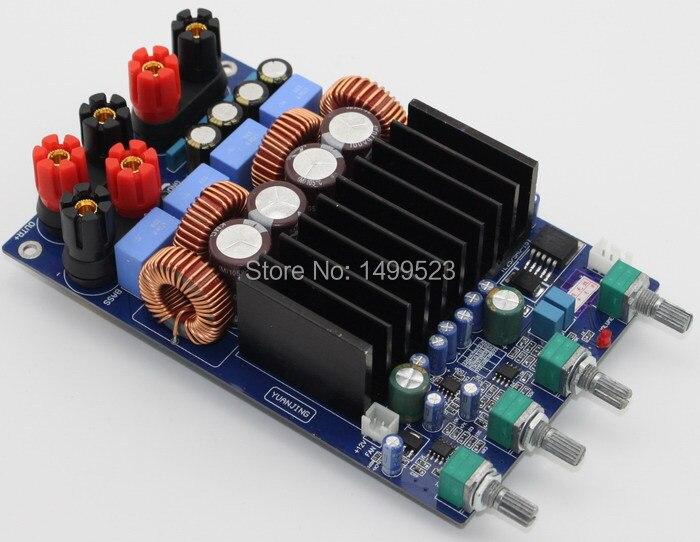 Assembled TAS5630 2.1 digital amplifier board (300W + 150W + 150W) assembled tas5630 2 1 digital amplifier board 300w 150w 150w