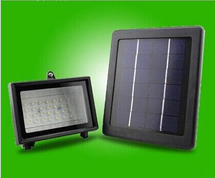 Licht En Bewegingssensor : Solar 54led oplaadbare schijnwerpers tuin licht waterdicht