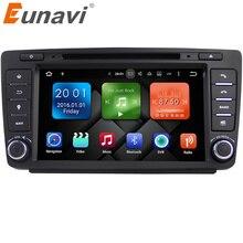 Eunavi 2 DIN автомобильный DVD GPS для Skoda Octavia 2012 2013 5 A5 Yeti Fabia автомобиль android 7.1 4 ядра 2 ГБ Оперативная память стерео Радио навигации