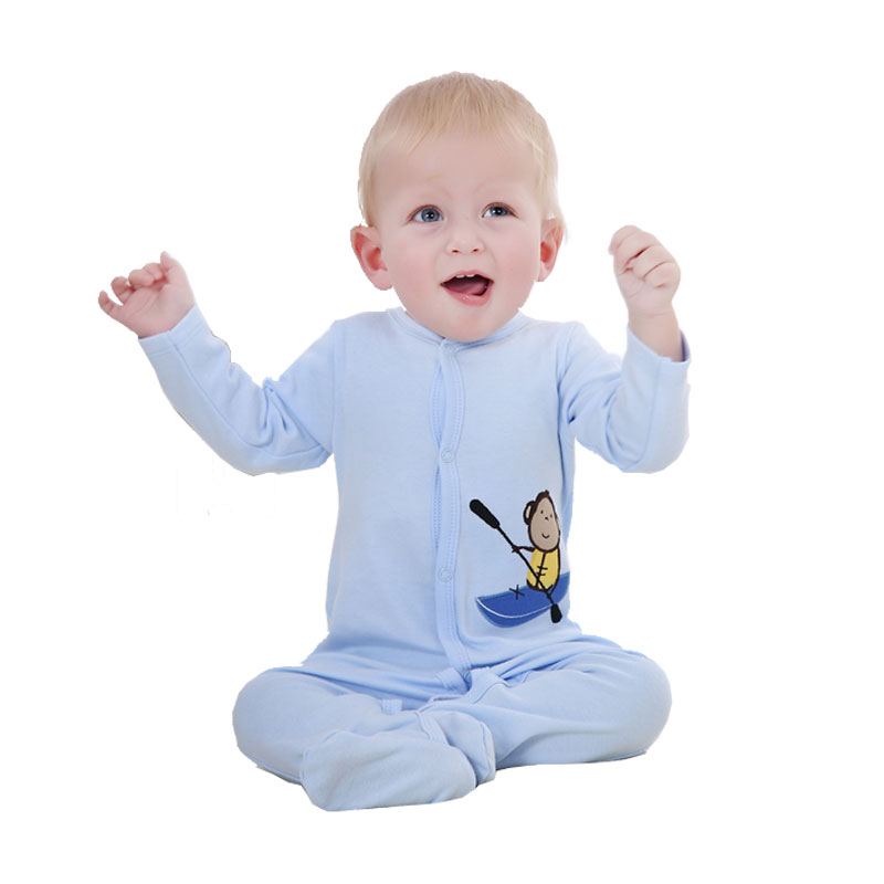 Baby Boy Romper Full Sleeve Baby Clothes 100% Cotton Infant Clothes Cartoon Printed Baby Girl Romper Jumpsuit Baby Clothing mother nest baby romper 100% cotton long sleeves baby gilrs pajamas cartoon printed newborn baby boys clothes infant jumpsuit