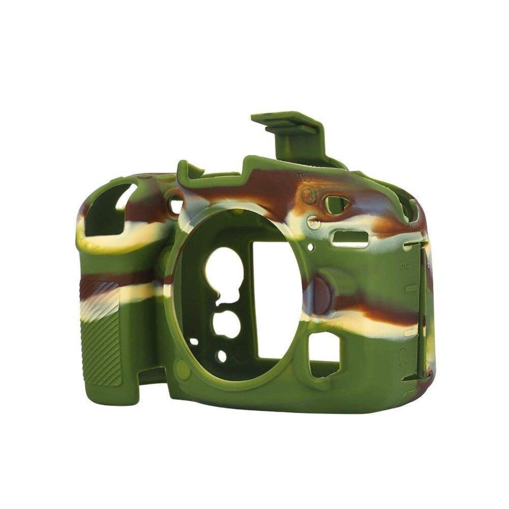 Fotografica Caso D5500 Molle Per Nikon Gomma Ora Solo Protezione Silicone Della Pelle Macchina D7200 D5600 Sacchetto D7100 Copertura Di D750 BA4In4xz