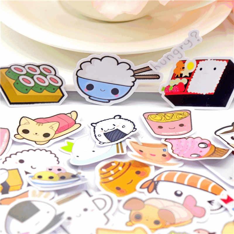 36 قطع الإبداعية لطيف kawaii عصامي التعبير الغذاء سكرابوكينغ ملصقات/ملصق ديكور/DIY كرافت ألبومات الصور /جذع