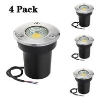 LED światło podziemne 3W 5W 10W COB lampa podłogowa teren zewnętrzny Spot pejzaż z ogrodem plac ścieżka pochowany stoczni 85 265V DC12V IP68 w Lampy podziemne LED od Lampy i oświetlenie na