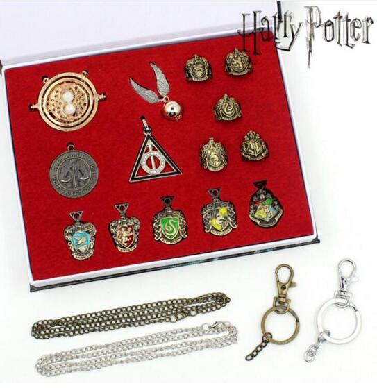 1 Set Harri Potter Magic Wands Hermione Granger Lord Severus Snape Neville Wand Narvissa Dumbledore Quidditch Time Turner Toy 2017 new arrive metal iron core cosplay malfoy dumbledore hermione voldemort wand harry potter magic wand gift box packing