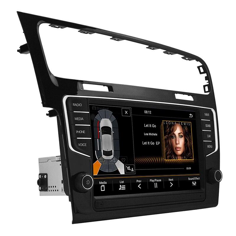 Autoradio navigation voiture multimédia vidéo android 8.1 voiture dvd pour VW Golf 7 2014-2018 9