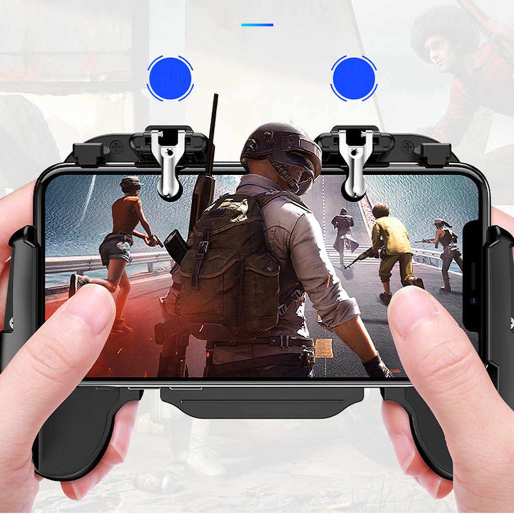 NEUE für PUBG 4-in-1 spiel telefon taste set schießen und ziel trigger handy kühlung mobile spiel controller drop verschiffen