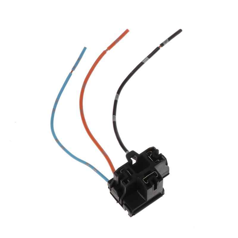 Import H4 Car Halogen Bulb Socket Power Adapter Plug Connector Wiring on