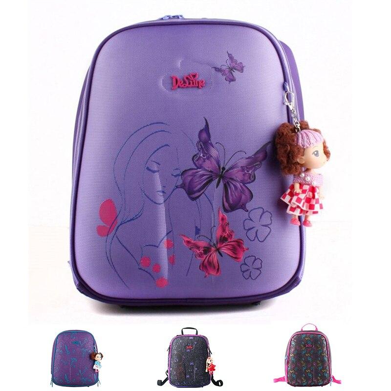 1.1kg Top Quality Famou designer Backpack Primary 1-6 grade children Cartoon Backpack Boys and Girls Vacuum Burdens Shoulder bag