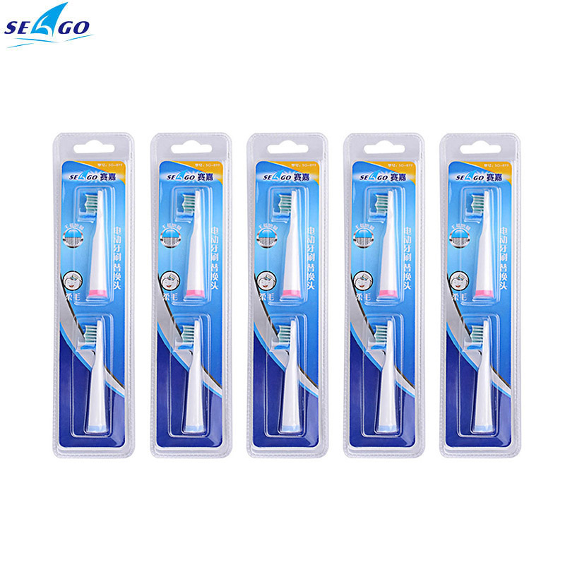 5 pcs DuPont Bristles Seago Clean Replacement Tooth Brush Heads for SG-610 / SG-E8 / SG-909  Care Oral Hygiene Clean Teeth Tools seago soft dupont nylon bristle electric brush head for sg507 sg910 sg919 sg908 sg909 sg917 deep clean health oral care