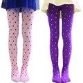 Девочки колготки мягкий хлопок чулки симпатичные горошек колготки для девочек осень детская одежда для 1 - 10 Y детская одежда