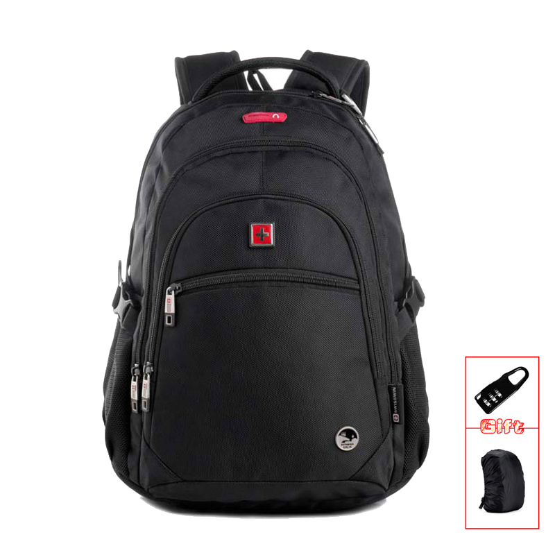 SWISSWIN Classic Man Daily Backpack Black School Backpack For Boys With Music Function Bolsa Mochila Masculina Backbag SW9130 men backpack student school bag for teenager boys large capacity trip backpacks laptop backpack for 15 inches mochila masculina