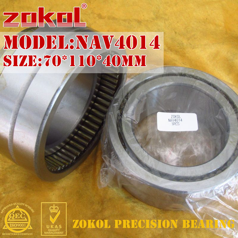 ZOKOL bearing NAV4014 Full bore needle roller bearing with inner ring 70*110*40mm