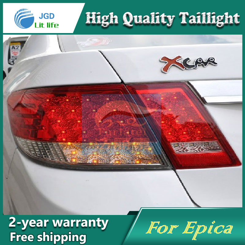 Car Styling Tail Lamp for Chevrolet Epica Tail Lights LED Tail Light Rear Lamp LED DRL+Brake+Park+Signal Stop Lamp car styling tail lamp for toyota corolla led tail light 2014 2016 new altis led rear lamp led drl brake park signal stop lamp