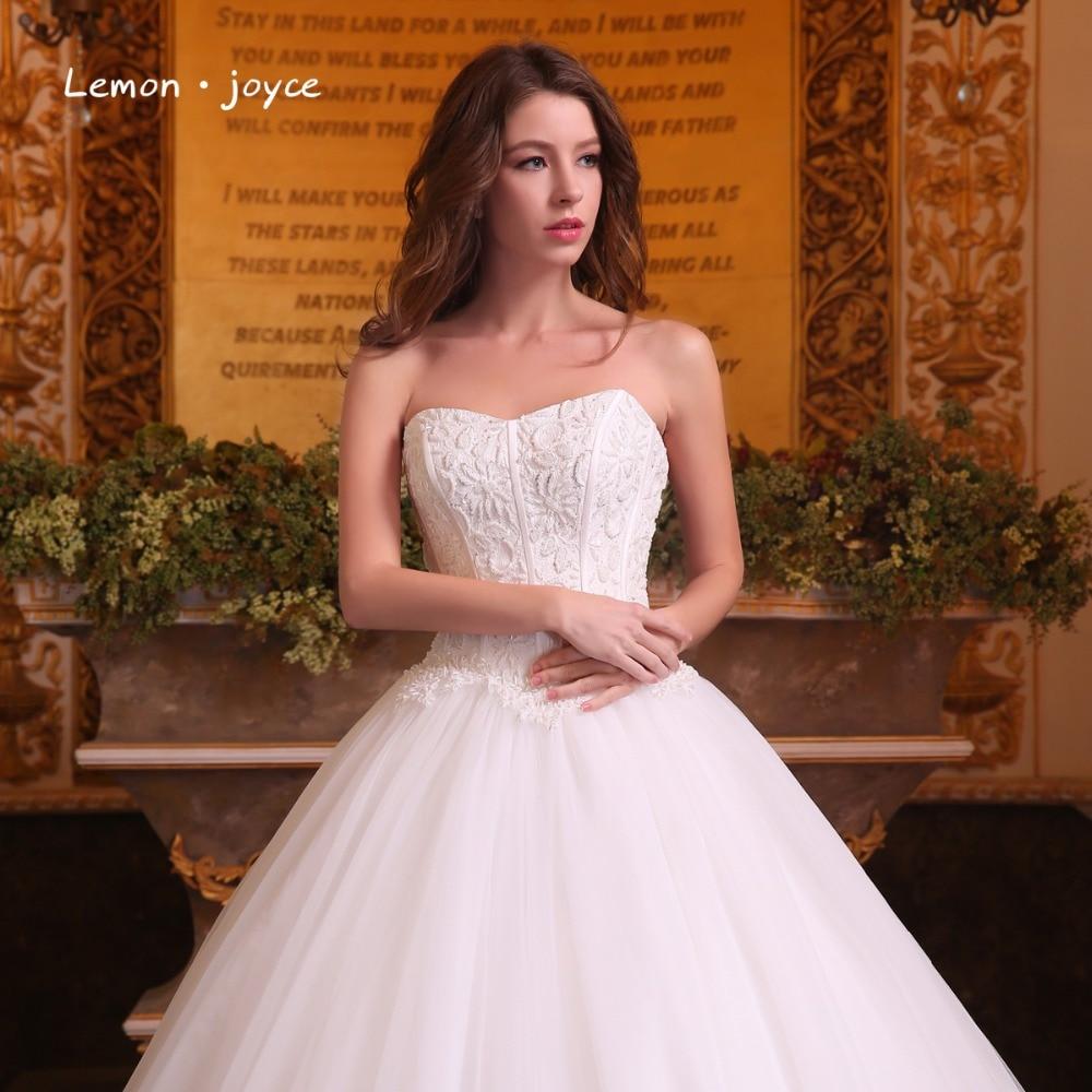 Aliexpress.com : Buy Romantic Wedding Dresses Ball Gowns 2018 Modern ...