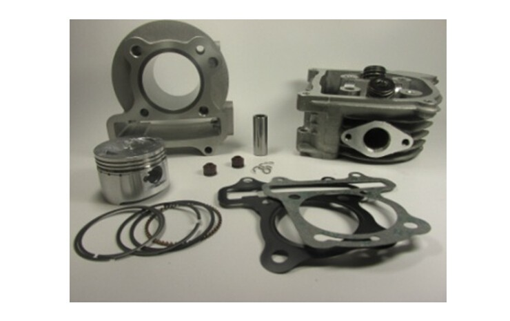 High Performance GY6 50cc to 100cc 50mm Big Bore Cylinder Kit