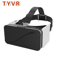 VR Box 3D Headset VR Glasses Foldable Virtual Reality Goggles Googles Cardboard Helmet For Smartphones 4