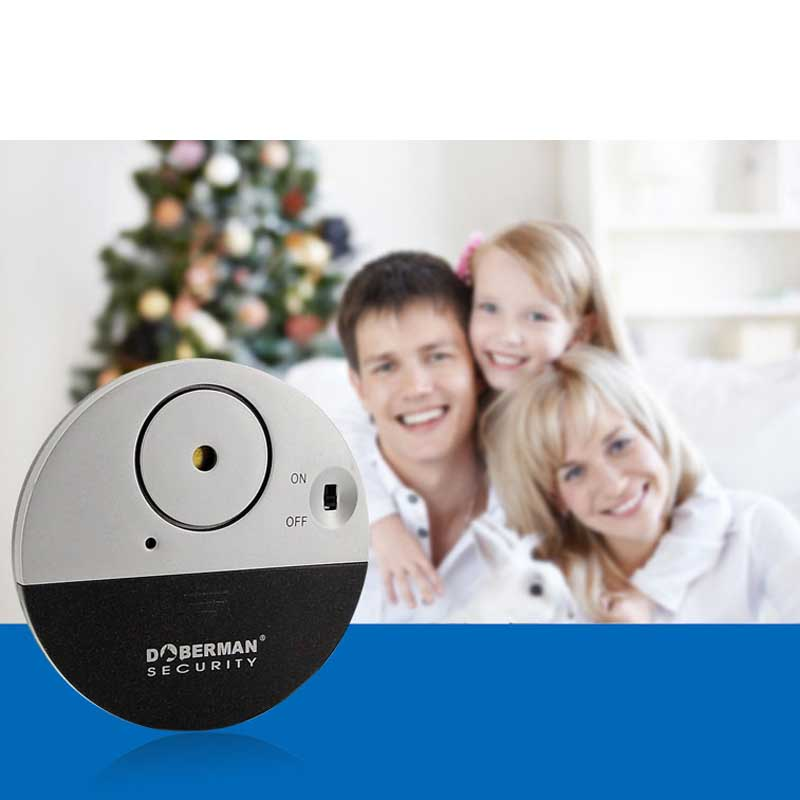 Ultra-Slim Wireless Window Alarm with Loud Alarm and Vibration Sensors  Modern Ultra-Thin Design Compatible with Window ultra wideband communications systems structure and design