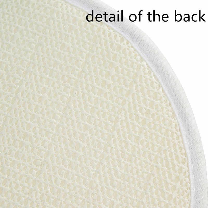 1 шт. 40*60 см цветочный узор Противоскользящий замшевый дверной коврик для улицы кухня гостиная ковер 48206