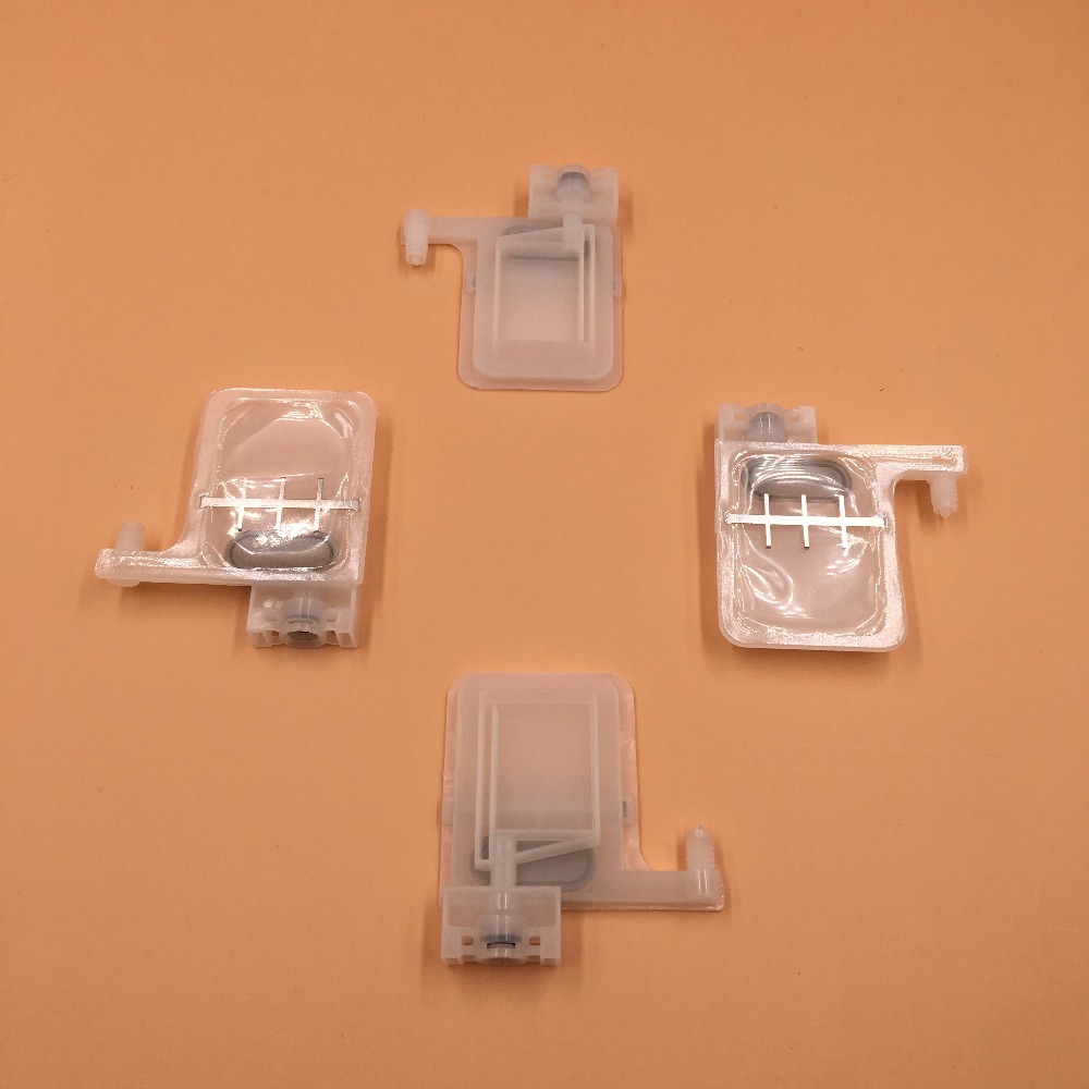 10pcs white big ink damper for Epson DX5 print head with square connector (for tube 3*2mm)
