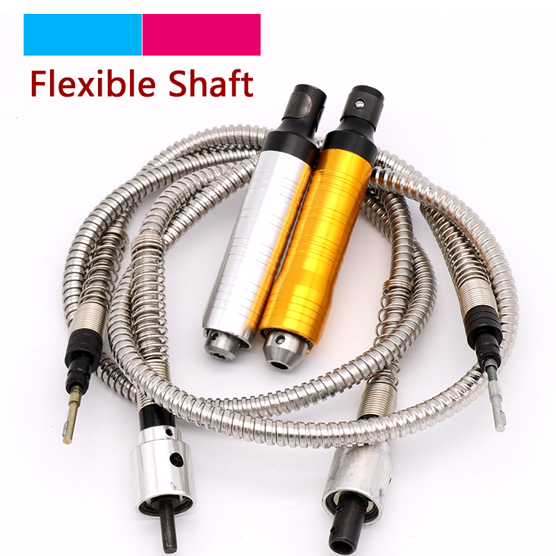 4/6mm Stainless Steel Flexible Shaft Accessories / 0.2-6.5mm Handle Angle Grinder Machine For Electric Drill Rotary Tools