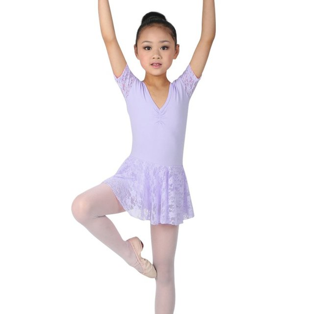 7975a9059 Cute Girls Ballet Dress For Children Girl Dance Clothing Kids Ballet ...