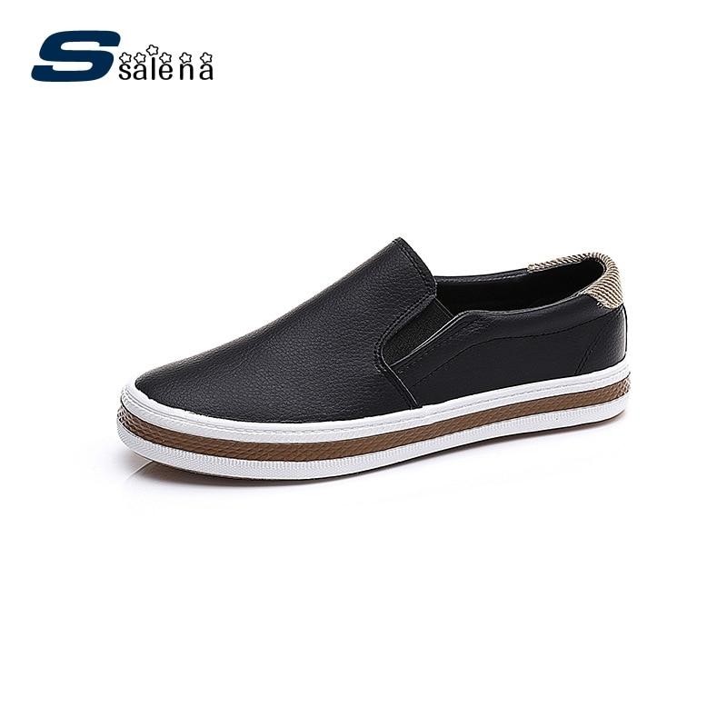 Platform Flats Shoes Men Breathable Outdoor Casual Shoes Comfortable Boys Leisure Shoes Size Eu 39 44 AA50112
