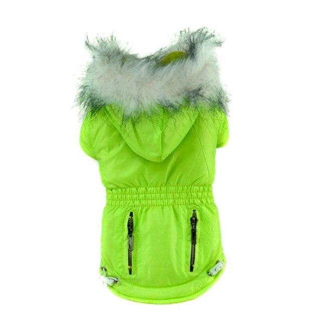 Warm Winter Hoodie Zip Pockets