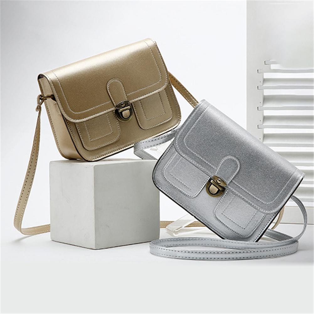 ad14444d0689 Модные сумки Ретро один сумка студент небольшой моды простой клапан  Британский Стиль Crossbody для женщин обувь