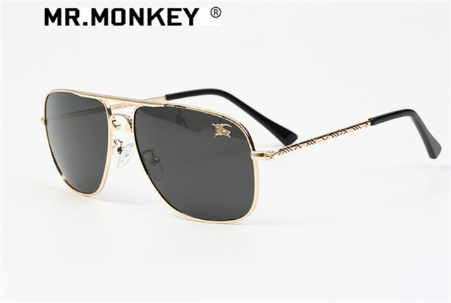 0c45ff60ca2f MONKEY BRAND DESIGN 2017 NEW FASHION MEN AND WOMEN UNISEX POLARIZED HIGH  QUALITY CROCODILE SUNGLASSES PILOT SUNMMER STYLE