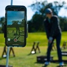 Прямая поставка гольф качели рекордер держатель сотовый телефон клип Холдинг тренер практика учебная помощь May31
