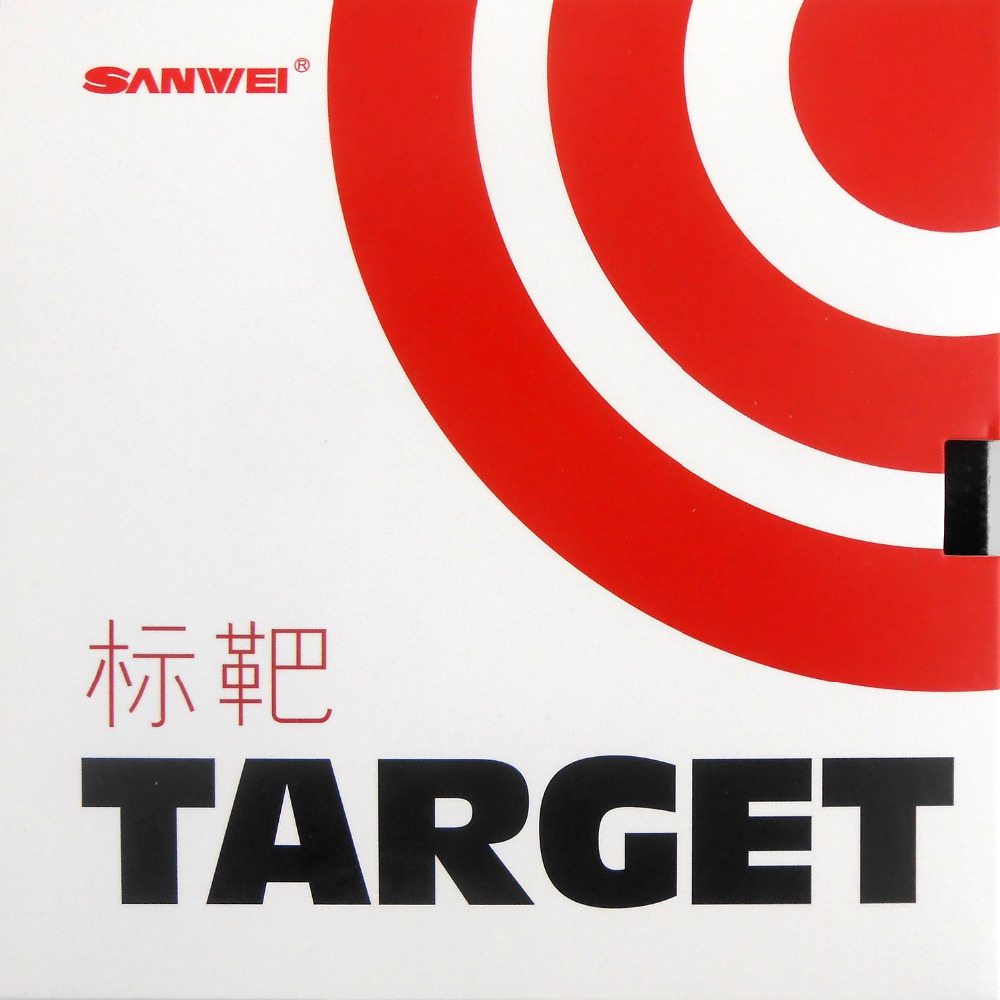 Sanwei TARGET Pips-in Table Tennis PingPong Rubber with Sponge