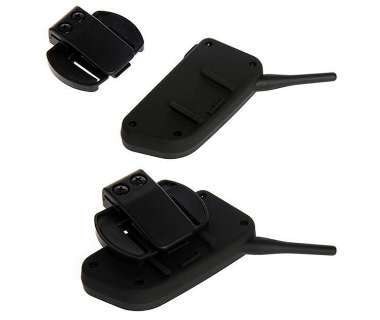 1PCS V4+2 Pcs V6 Motorcycle Helmet Bluetooth Intercom System BT Stereo Interphone Handsfree Headset for 3 Riders Group Chat (6)