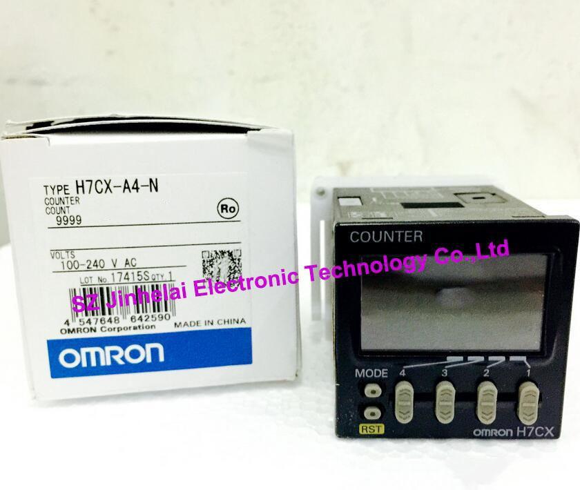 H7CX-A4-N, H7CX-AS-N, H7CX-A4S-N New and original OMRON 100-240VAC omron h7cx a114s n 100 240v ac