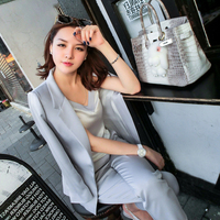 New Women Korean Temperament Piece Fitted Suit Professional Ladies Summer Fashion Trend TB070