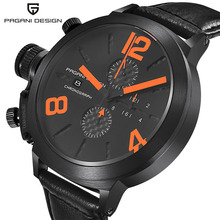 Mens Watches Top Brand Luxury PAGANI DESIGN Unique Innovative Quartz-watch Men Multifunction Sports Waterproof Relogio Masculino