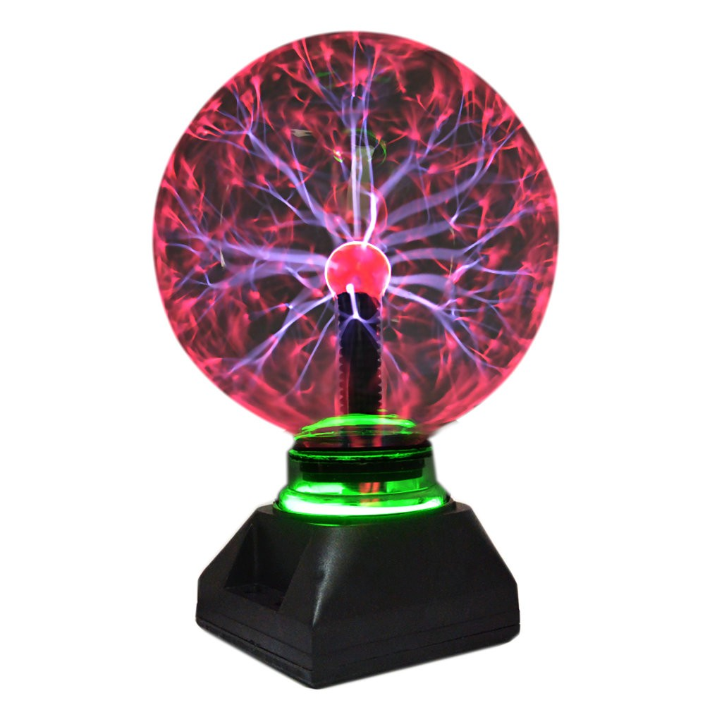 4 5 6 8 Inch Novelty Magic Plasma Ball Light Kids Room Table Lights Crystal Lamp Sphere Transparent Night Lamps Party Decoration