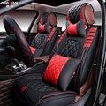 Nuevo deporte 3d cubierta de asiento de coche cojín generales, cuero superior, cubiertas de coche, coche que labra para bmw audi honda crv ford nissan sedan