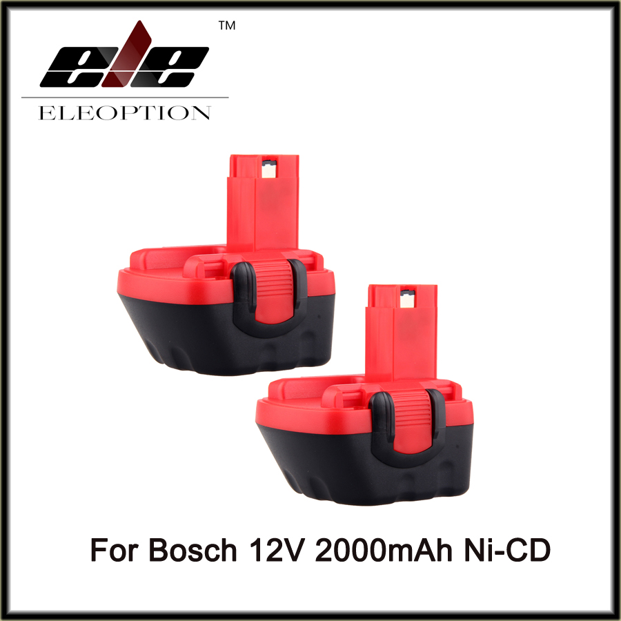 2 PCS Eleoption For BOSCH GSR 12V GLI AHS GSB GS4R PSR 12 12VE batterie 2