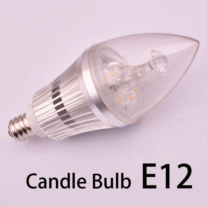 candelabra led light bulbs e12 e14 Free shipping cri 80 280lm 2 years warranty candelabra led