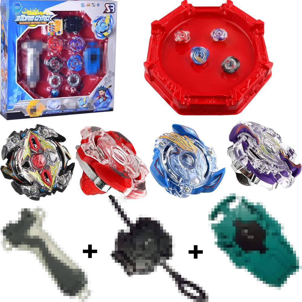 Spinning Burst 4D Set With Launcher and Arena Metal Fight Battle Fusion Classic Toys With Original Box For Kid Christmas Gift in Spinning Tops from Toys Hobbies