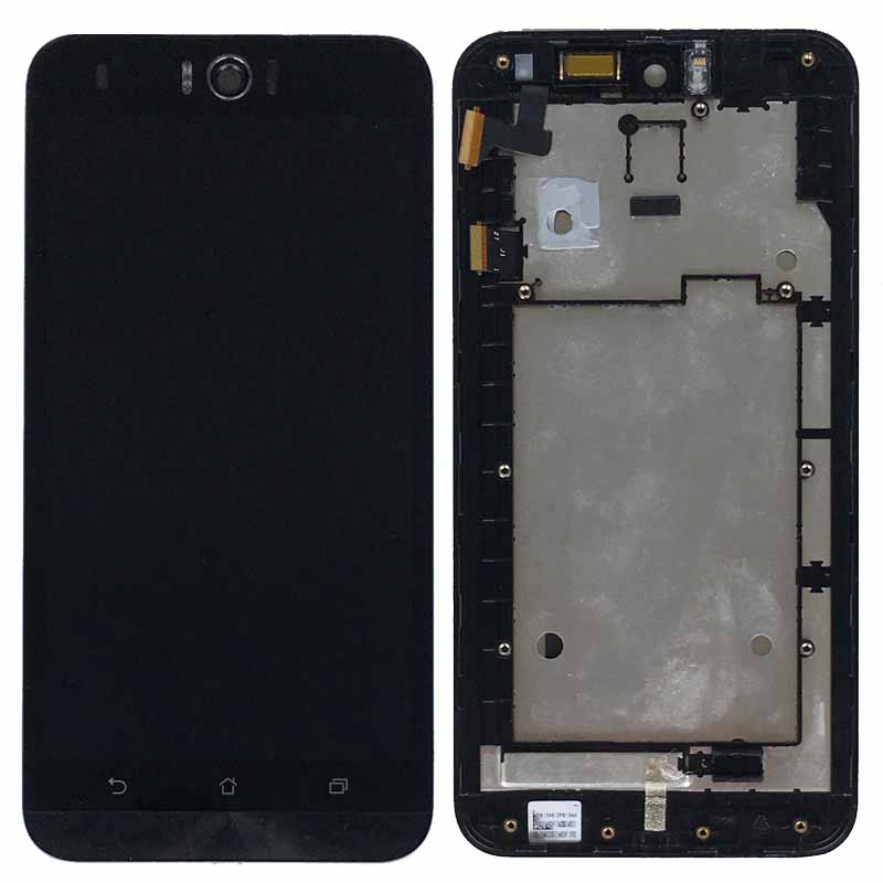 Black LCD Display Glass Touch Screen Digitizer Assembly+Frame For ASUS Zenfone Selfie ZD551KL