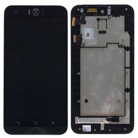 Black LCD Display Glass Touch Screen Digitizer Assembly Frame For ASUS Zenfone Selfie ZD551KL