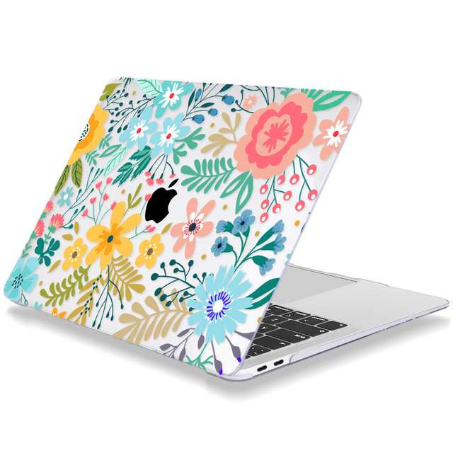 Floral Case for MacBook 2