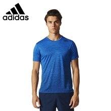 ADIDAS Original New Arrival 2017 Mens Freelift Grad Breathable T-shirts short sleeve Sportswear For Men