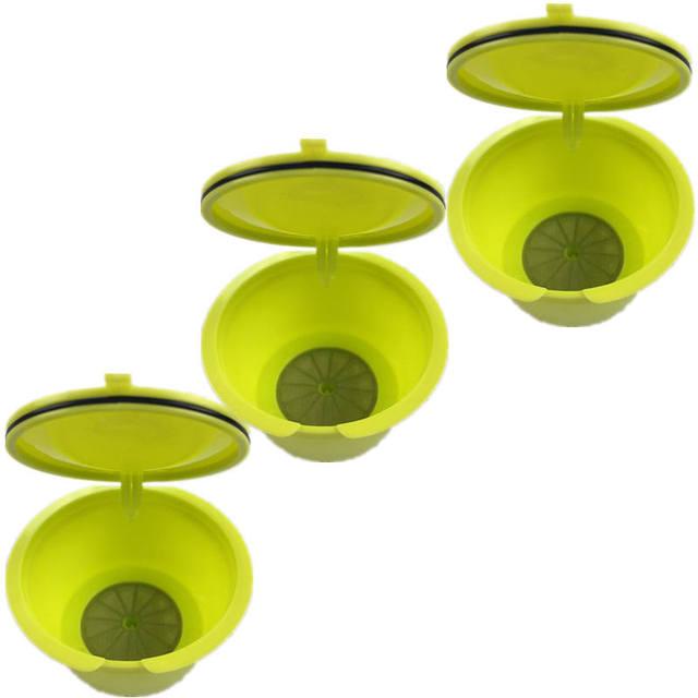 3 Pcs Green Filter Basket